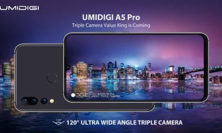 Három hátlapi kamerával érkezik május végén az UMIDIGI A5