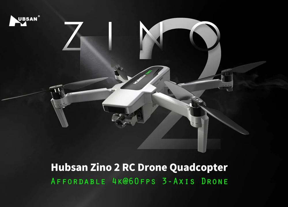 Hubsan Zino 2 bemutató - könnyen lehet, hogy 2020 legkelendőbb drónja lesz!