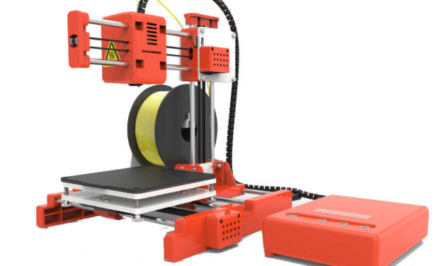 Fontos a tanulás, olcsó 3D nyomtató, nem csak gyerekeknek