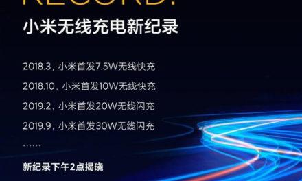 Már 40 wattnál tart a Xiaomi vezeték nélküli töltés