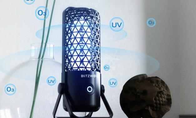 BlitzWolf® BW-FUN4 – olcsó vírusírtó, fertőtlenítő lámpa