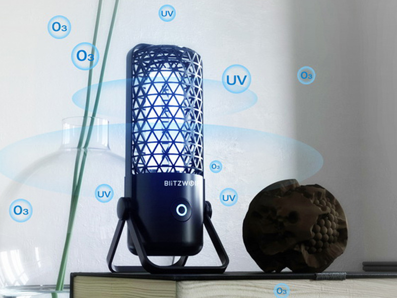 BlitzWolf® BW-FUN4 - olcsó vírusírtó, fertőtlenítő lámpa
