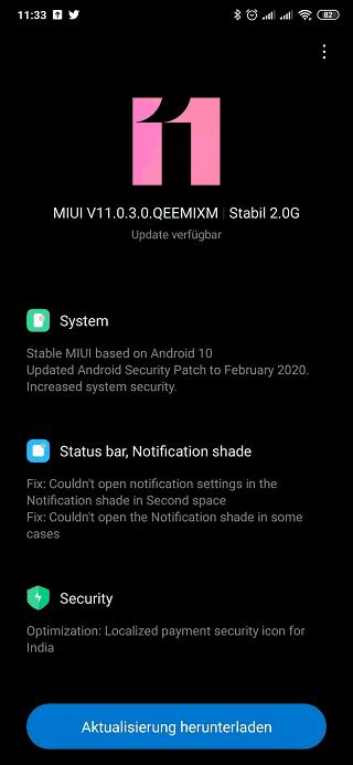 Android 10+MIUI11 érkezik a Xiaomi MIX 3-ra 2