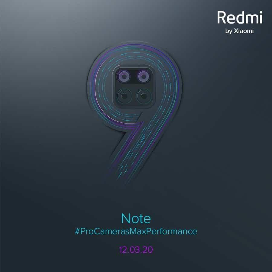 Redmi Note 9, március közepén, sok kamerával érkezik