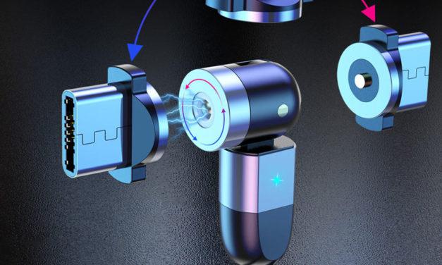 USLION mágneses töltőkábel, egy mind felett