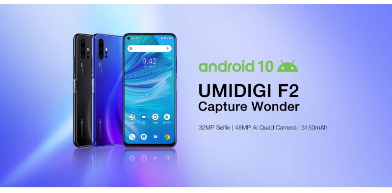 UMIDIGI F2 – Az erős, négykamerás, 60 ezer forintért