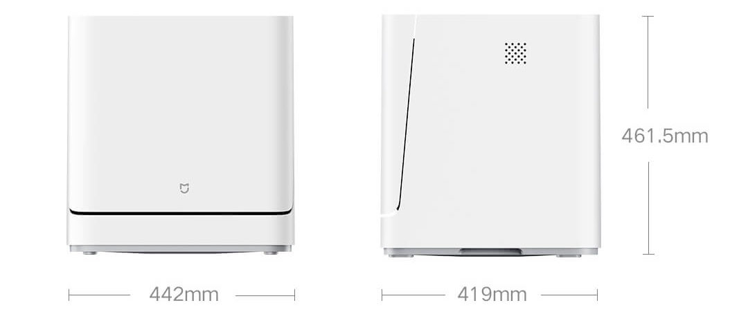 Xiaomi Mijia VDW0401M, okos mosogatógép érkezett 3