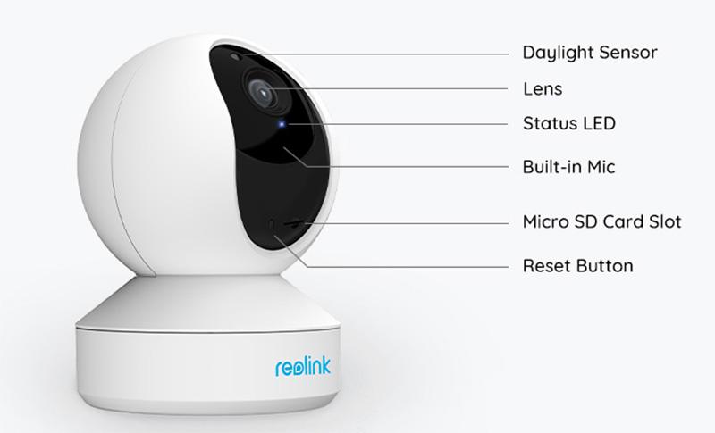 Reolink E1 Pro – 4K-s beltéri kamera gombokért 10