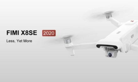 Itt a Xiaomi Fimi X8 SE drón 2020-as verziója, jó az ára, és EU raktárból jön!