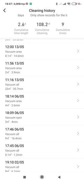 Xiaomi Viomi V3 robotporszívóteszt – a sikeres csúcshódítás 28