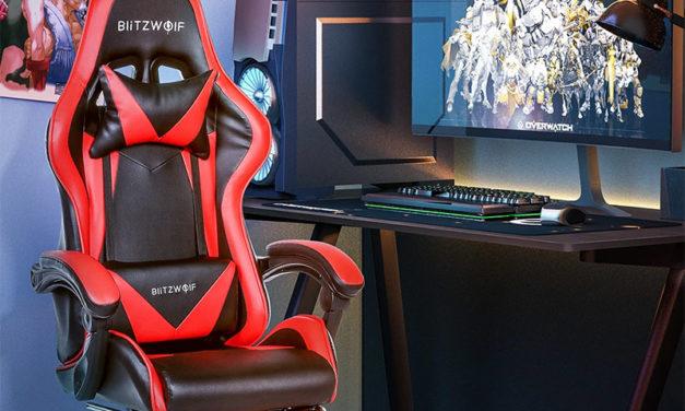 Blitzwolf BW-GC1 gamer szék cseh raktárból bevezető áron, ne hagyd ki!