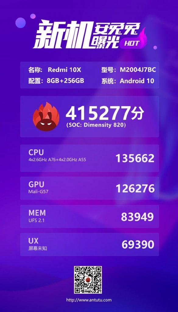 A Redmi 10X 5G – a legolcsóbb 5G képes telefon! 1