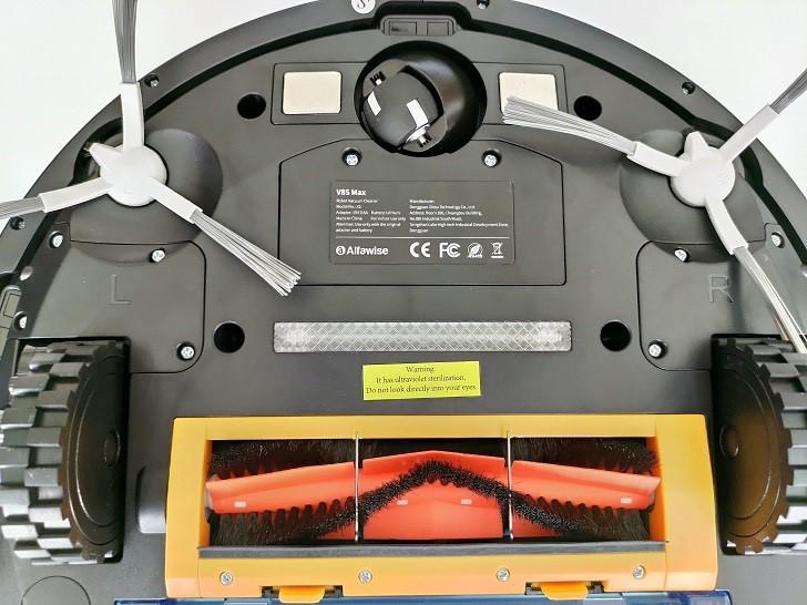 Alfawise V8S Max robotporszívó – az okos választás 10