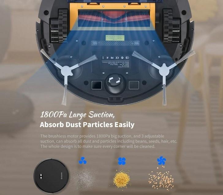 Alfawise V8S Max robotporszívó – az okos választás 15