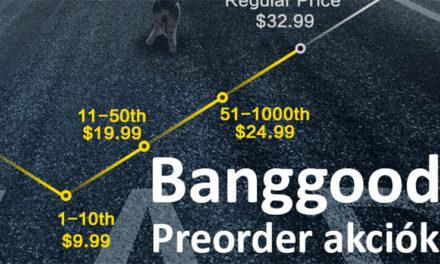 Legjobb elővételi akciók – Banggood – 2020.10.02.