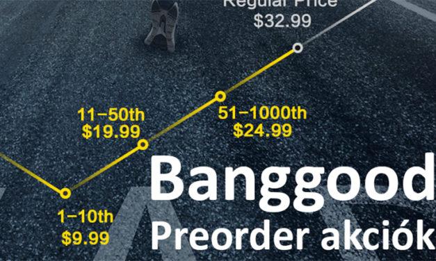 Legjobb elővételi akciók – Banggood – 2020.08.06.