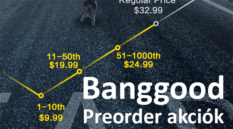Legjobb elővételi akciók – Banggood – 2020.11.16.