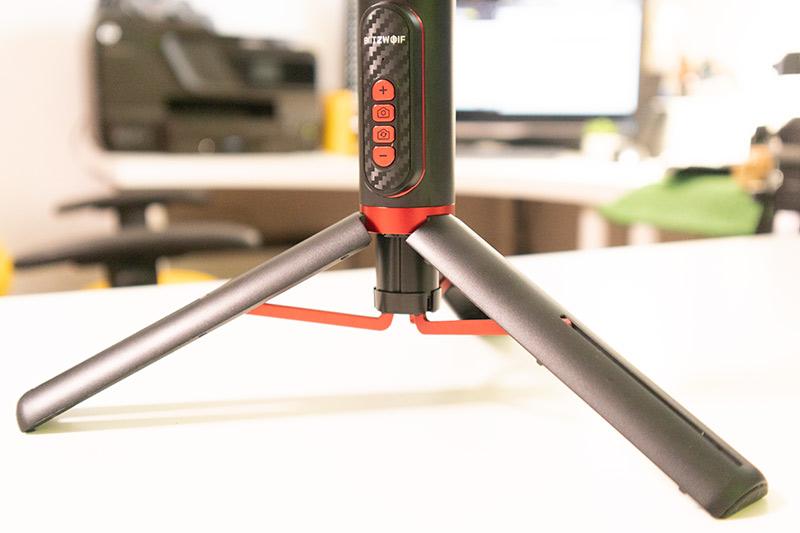BlitzWolf BW-BS10 Pro All-in-one szelfibot teszt 4