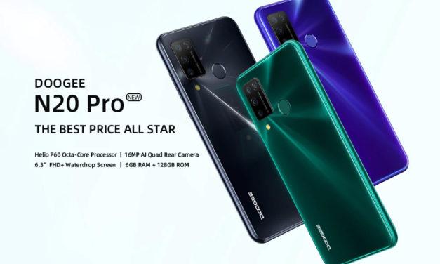 Doogee N20 Pro – most kegyetlenül jó áron az új telefon!