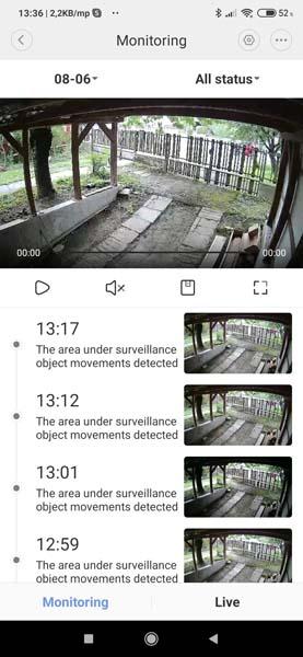 Xiaomi IMILAB EC2 - A teljesen vezetékmentes biztonsági kamera tesztje 12