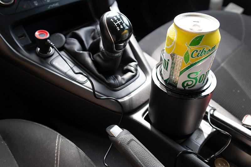 Az autós italhűtő és teleszkópos ventilátor esete a kánikulával