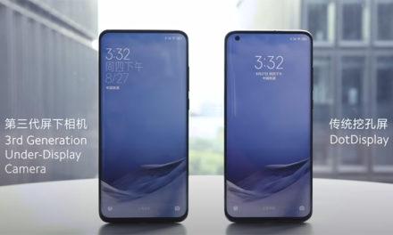 A Xiaomi a 3. generációs üveg alatti szelfikameránál tart (videóval)