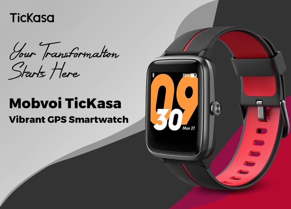 Mobvoi TicKasa – nagyon erős kihívót kapott a Xiaomi BIP okosóra