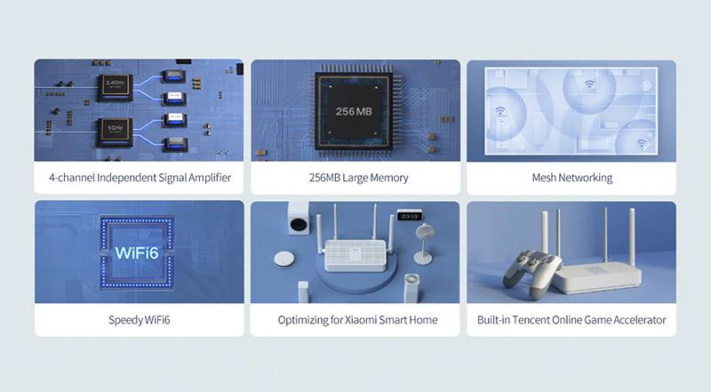 Redmi AX5 Wi-Fi 6 router teszt - gombokért adják a jövő technológiáját 8