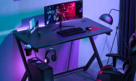 BlitzWolf BW-GD1 gamer asztal – eszetlenül jól néz ki, nevetségesen olcsón