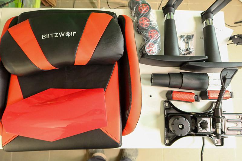 Blitzwolf GC6 – a gamer széknek álcázott kényelem 4