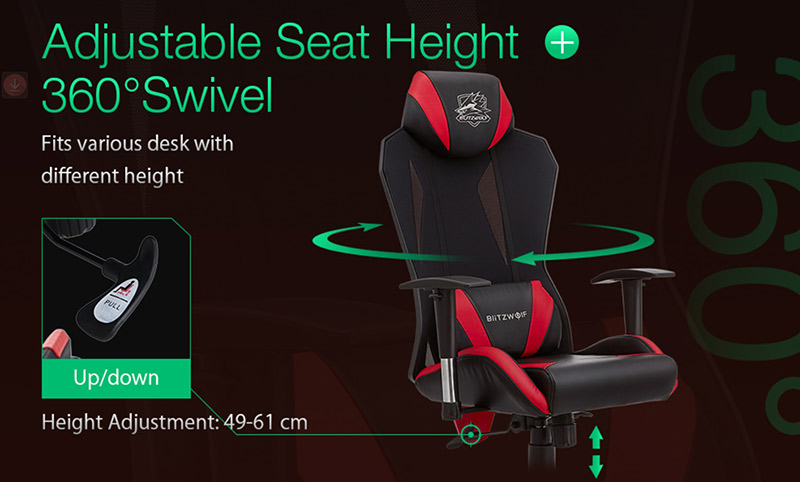 Blitzwolf GC6 – a gamer széknek álcázott kényelem 11