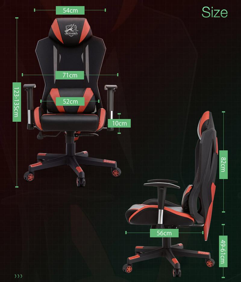 Blitzwolf GC6 – a gamer széknek álcázott kényelem 10