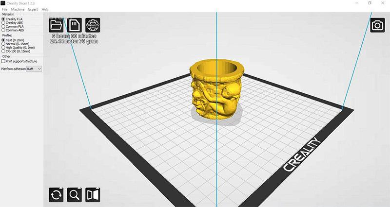 Kipróbáltuk – Creality Ender 3, menő 3D nyomtató egy jobb tintasugaras áráért 4