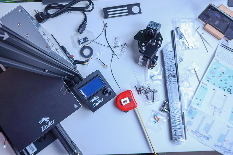 Kipróbáltuk – Creality Ender 3, menő 3D nyomtató egy jobb tintasugaras áráért-9