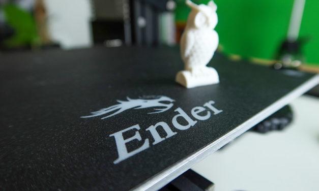 Kipróbáltuk – Creality Ender 3, menő 3D nyomtató egy jobb tintasugaras áráért