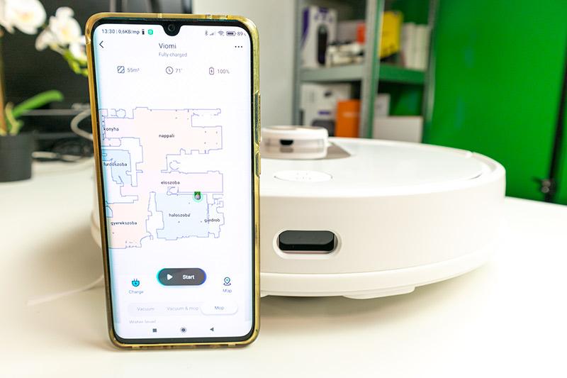 Xiaomi VIOMI SE – az ősz legjobb lézeres robotporszívója 20