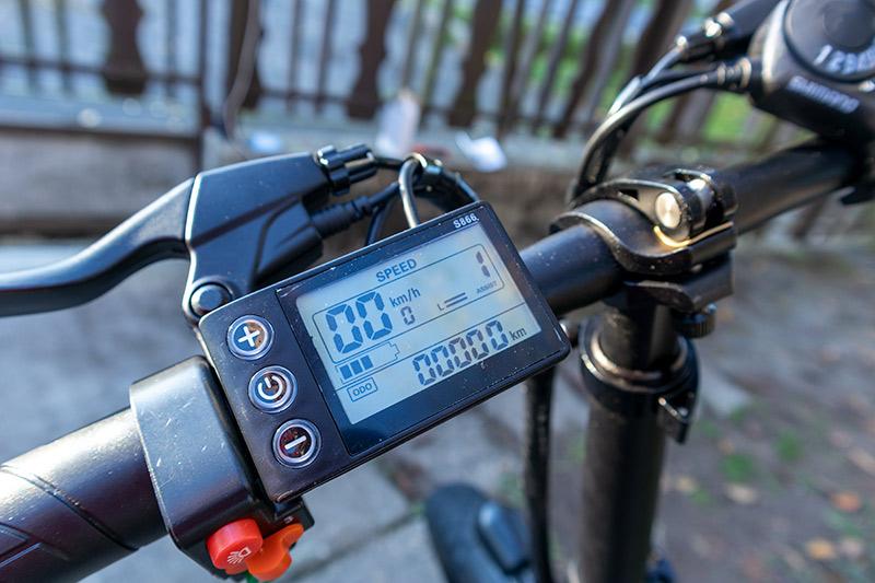 Ez nem elektromos bringa, hanem egy szörnyeteg – ADO Z20C teszt 24