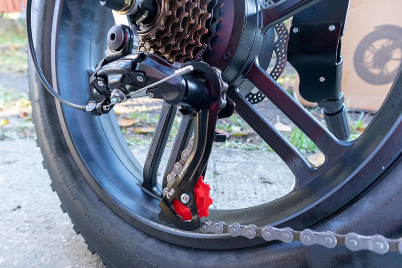 Ez nem elektromos bringa, hanem egy szörnyeteg – ADO Z20C teszt 16