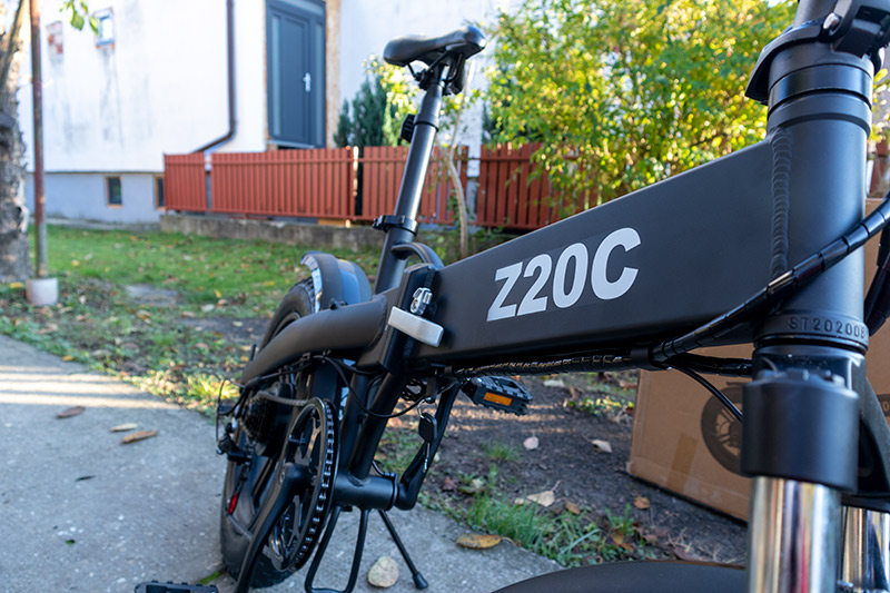 Ez nem elektromos bringa, hanem egy szörnyeteg – ADO Z20C teszt 34
