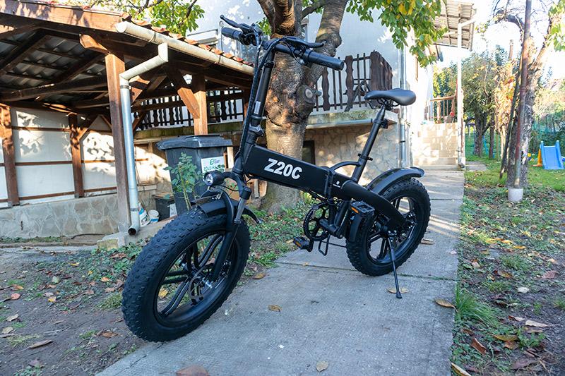 Ez nem elektromos kerékpár, hanem egy szörnyeteg – ADO Z20C teszt 36