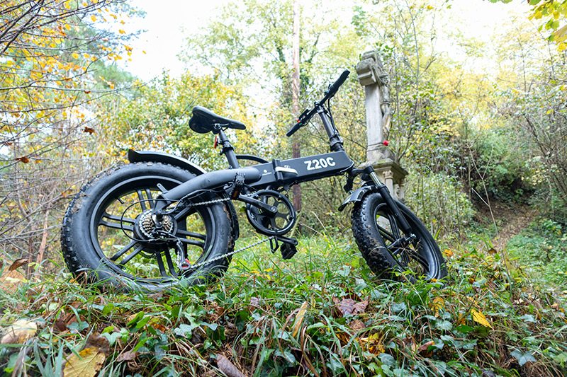 Ez nem elektromos kerékpár, hanem egy szörnyeteg – ADO Z20C teszt 27