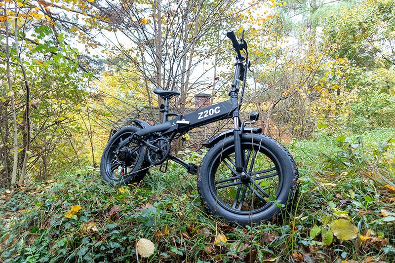 Ez nem elektromos bringa, hanem egy szörnyeteg – ADO Z20C teszt 28