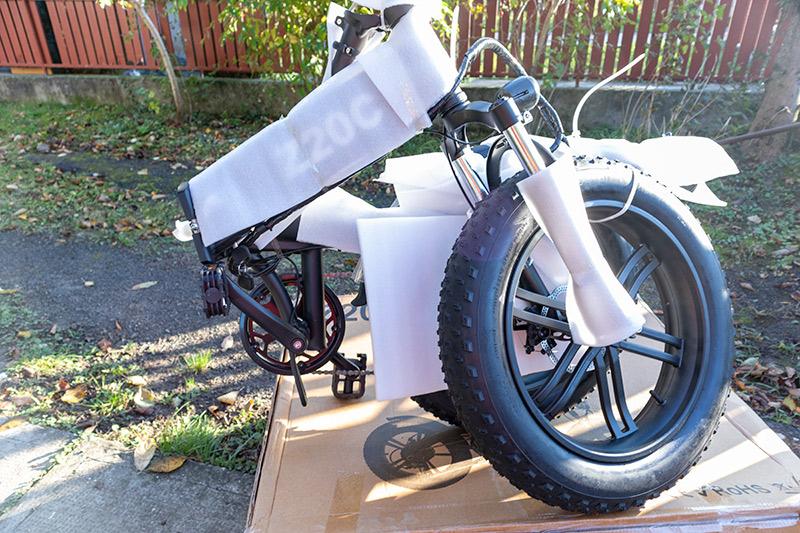 Ez nem elektromos bringa, hanem egy szörnyeteg – ADO Z20C teszt 6