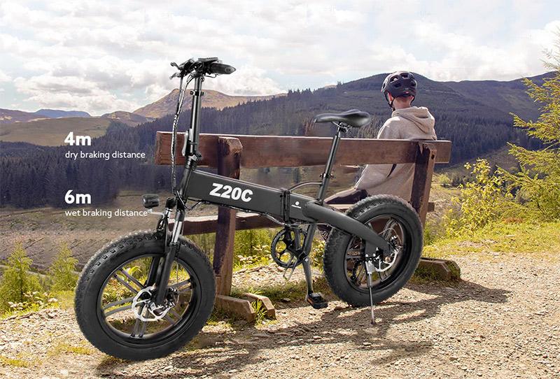 Ez nem elektromos bringa, hanem egy szörnyeteg – ADO Z20C teszt 2