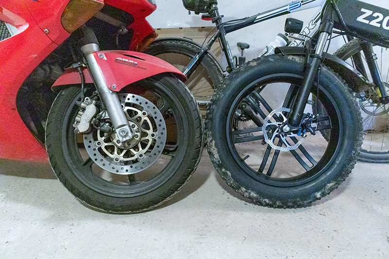 Ez nem elektromos kerékpár, hanem egy szörnyeteg – ADO Z20C teszt 32
