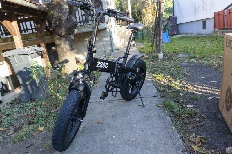 Ez nem elektromos kerékpár, hanem egy szörnyeteg – ADO Z20C teszt 10