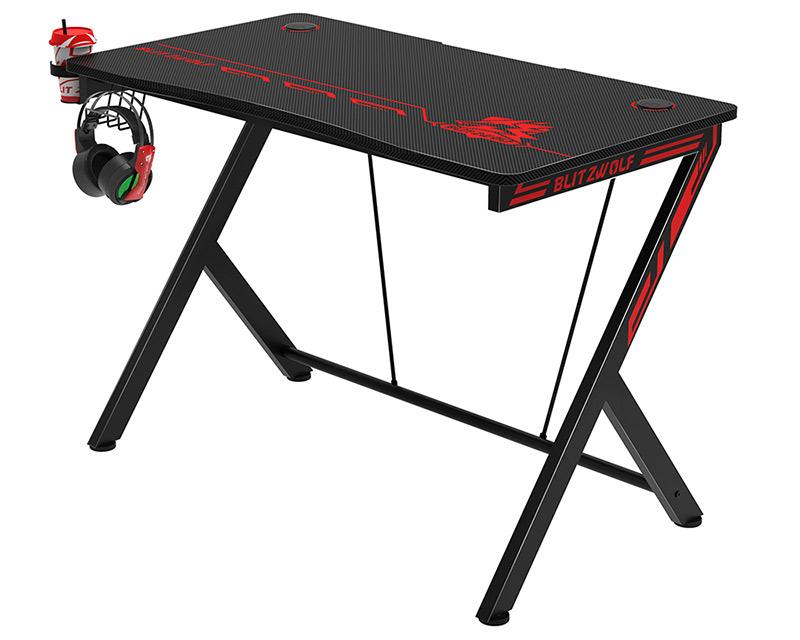 Blitzwolf BW-GD1 gamer asztal, a legtutibb karácsonyi ajándék 5