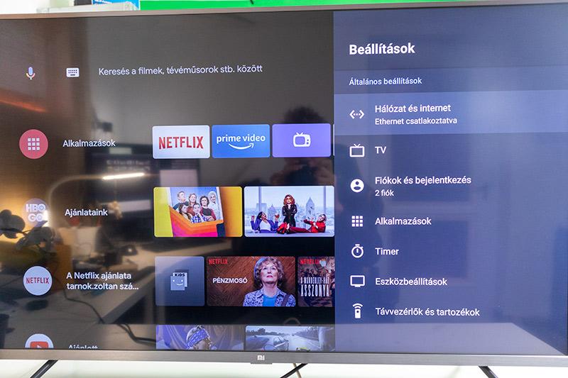 4K-s árbajnok a nappalimban - Xiaomi TV teszt 9
