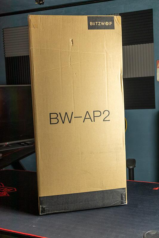 BlitzWolf BW-AP2 - a légtisztítók királya 4