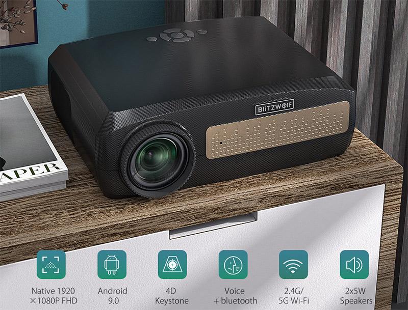 Blitzwolf BW-VP9 projektor teszt – vigyél haza egy mozit! 28